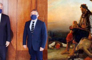 """Να χαρακτηριστεί ο δήμος Σαμοθράκης """"ηρωικός"""" ζήτησε ο Σταύρος Κελέτσης απ' τον υπουργό Εσωτερικών Μάκη Βορίδη"""