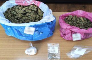 Αλεξανδρούπολη: Είχε κρυμμένα στο σπίτι 1,2 κιλά ναρκωτικά, αλλά τα… μύρισε ο αστυνομικός σκύλος