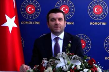 Μέχρι και τζαμί στη Θεσσαλονίκη ζήτησε απ' την Κομοτηνή, ο προκλητικός Τούρκος υφυπουργός Εξωτερικών