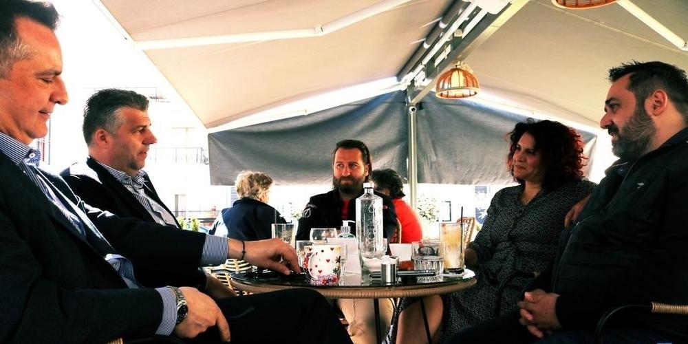 Επιμελητήριο Έβρου: Συνάντηση και… πανηγυρισμοί Τοψίδη-Ν.Γεωργιάδη, αφού ξανάνοιξαν όλα τα καταστήματα εστίασης στην Αλεξανδρούπολη