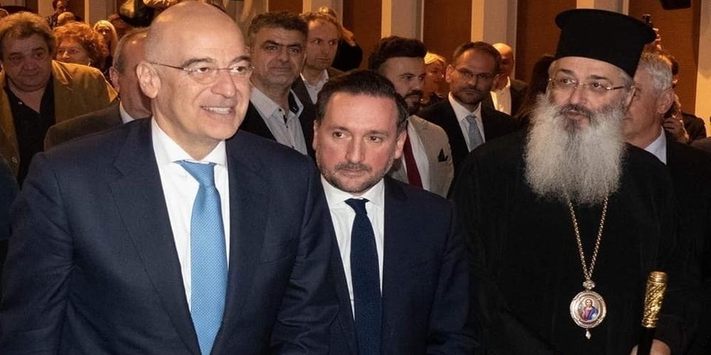 Απόφαση ανακήρυξης του υπουργού Εξωτερικών Νίκου Δένδια ως επίτιμου δημότη Αλεξανδρούπολης απ' το δημοτικό συμβούλιο