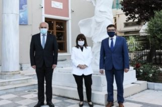Στον Έβρο από χθες η Πρόεδρος της Δημοκρατίας Κ.Σακελλαροπούλου – Συναντήσεις με Περιφεριάρχη ΑΜΘ, Μητροπολίτη κ.Άνθιμο