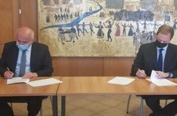 Περιφέρεια ΑΜΘ: Τακτοποιείται το θέμα του καθορισμού βοσκοτόπων, με σύμβαση που υπέγραψαν Μέτιος-Λιβανός