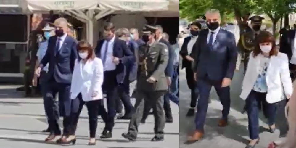 Στην Ορεστιάδα η Πρόεδρος της Δημοκρατίας Κ.Σακελλαροπούλου – Οι συναντήσεις της (ΒΙΝΤΕΟ)