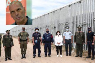 Κόμμα Βαρουφάκη: Επίθεση στην Πρόεδρο της Δημοκρατίας, γιατί επισκέφθηκε τον φράχτη του Έβρου