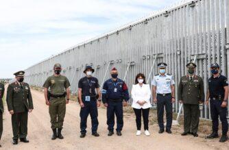 """Σακελλαροπούλου: """"Στον φράχτη του Έβρου, στο πλευρό όσων έχουν αναλάβει τη φύλαξη των συνόρων μας"""""""