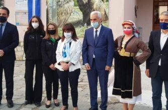 """Σουφλί: Επίσκεψη της Προέδρου της Δημοκρατίας, που διανυκτέρευσε στην """"πόλη του μεταξιού"""""""