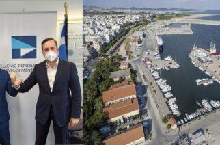 Αλεξανδρούπολη: Συνάντηση Ζαμπούκη για το λιμάνι, με τον Διευθύνοντα Σύμβουλο του ΤΑΙΠΕΔ