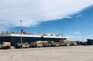 """Αλεξανδρούπολη: Ήρθε το αμερικανικό πλοίο """"Green Ridge"""" και φορτώνει ελικόπτερα στο λιμάνι"""