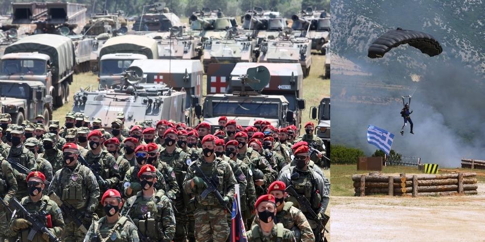 """Θράκη: Διθύραμβοι από Πάιατ και Στρατηγό Καβόλι, για την ελληνοαμερικανική άσκηση """"Κένταυρος 21"""""""
