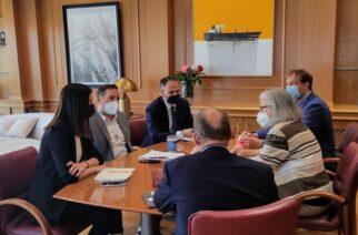Αλεξανδρούπολη: Εθιμοτυπική συνάντηση του δημάρχου Γιάννη Ζαμπούκη με την Πρέσβη της Αυστρίας