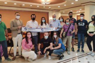 Επίσκεψη της οργάνωσης YOUNG LIBERALS στο δημαρχείο Σουφλίου