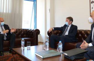 Συνάντηση Μέτιου με τον Βούλγαρο Γενικό Πρόξενο της Θεσσαλονίκης για Νυμφαία και άλλα θέματα