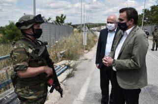 Μαργαρίτης Σχοινάς: Τα σύνορα στον 'Εβρο είναι ευρωπαϊκά και θα φυλάσσονται