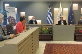 Στήριξη του Δημοκρίτειου Πανεπιστημίου Θράκης, υποσχέθηκε ο Μαργαρίτης Σχοινάς κατά την επίσκεψη του