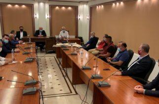 Σουφλί: Σύσκεψη υπό τον Περιφερειάρχη Χρήστο Μέτιο, για αρδευτικά δίκτυα, αντιπλημμυρικά έργα
