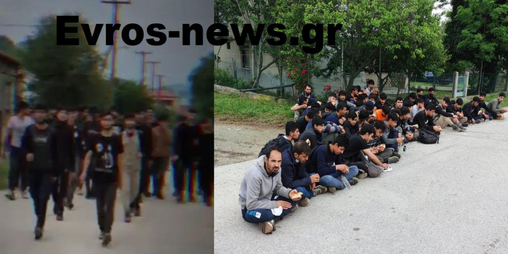 ΒΙΝΤΕΟ: Νεαροί λαθρομετανάστες ήρθαν να… ενσωματωθούν (κατά την Πρόεδρο Δημοκρατίας) σήμερα στο Ορμένιο