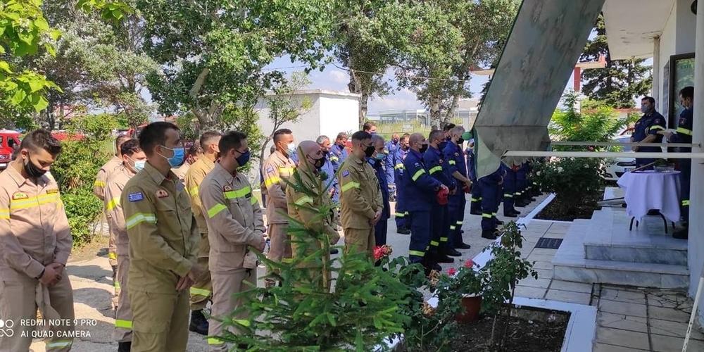Αλεξανδρούπολη: Αγιασμός για την φετινή αντιπυρική περίοδο στις εγκαταστάσεις της Πυροσβεστικής