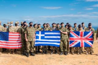 """Αλεξανδρούπολη: Συνεκπαίδευση της XII Μεραρχίας Πεζικού """"ΕΒΡΟΣ"""", με μονάδες των ΗΠΑ και της Βρετανίας"""