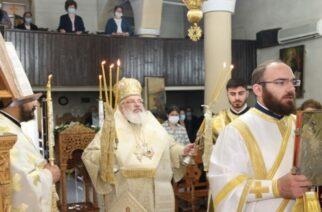 Στην Φτελιά Ορεστιάδας ιερούργησε ο Μητροπολίτης κ.Δαμασκηνός, ενώ ευλόγησε και τους υποψήφιους των Πανελληνίων εξετάσεων