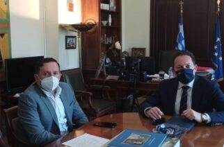 Σειρά συναντήσεων με κυβερνητικά στελέχη, είχε ο δήμαρχος Αλεξανδρούπολης Γιάννης Ζαμπούκης στην Αθήνα
