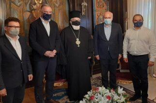 Διδυμότειχο: Τα προβλήματα κεντρικού και βόρειου Έβρου, κυριάρχησαν στη συνάντηση Καλαφάτη-Μητροπολίτη κ.Δαμασκηνού (ΒΙΝΤΕΟ)