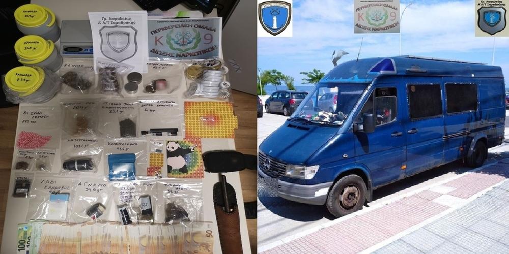 Σαμοθράκη: Συλλήψεις αλλοδαπών στο κάμπινγκ για ναρκωτικά, σε συντονισμένη επιχείρηση με το Λιμενικό Αλεξανδρούπολης
