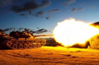 Αλεξανδρούπολη: Καταιγισμός πυρών από άρματα της ΧΙΙ Μεραρχίας για δυο ημέρες