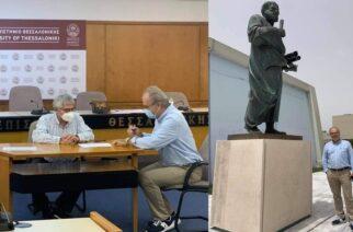 Ο Σουφλιώτης Δημήτρης Μπακαλούδης, ορκίστηκε χθες Καθηγητής στο Αριστοτέλειο Πανεπιστήμιο Θεσσαλονίκης