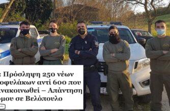 Προσλήψεις 250 νέων Συνοριοφυλάκων στον Έβρο, τουλάχιστον για 1 χρόνο – Πανηγυρική επιβεβαίωση του Evros-news.gr
