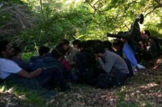 Ορεστιάδα: Συνεχίζονται οι ροές λαθρομεταναστών στην περιοχή του Τριγώνου – Αρκετοί έφτασαν και χθες
