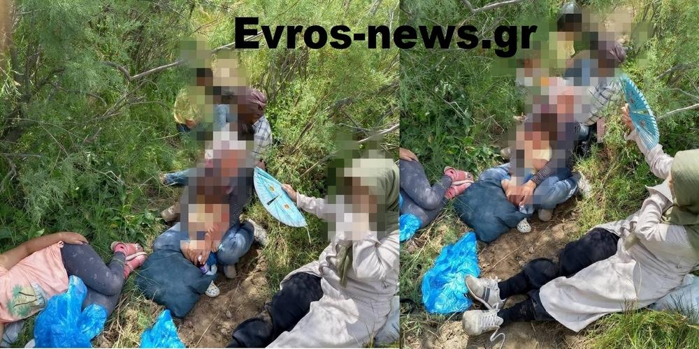 Φέρες: Επιχείρηση διάσωσης από την Συνοριοφυλακή 10 Τούρκων προσφύγων (6 παιδιά), που εγκλωβίστηκαν σε νησίδα