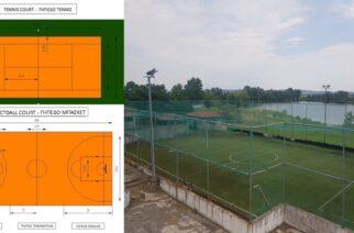 Σουφλί: Προχωράει η κατασκευή δύο ανοιχτών γηπέδων (μπάσκετ, τένις) και αναβαθμίζονται άλλα οκτώ
