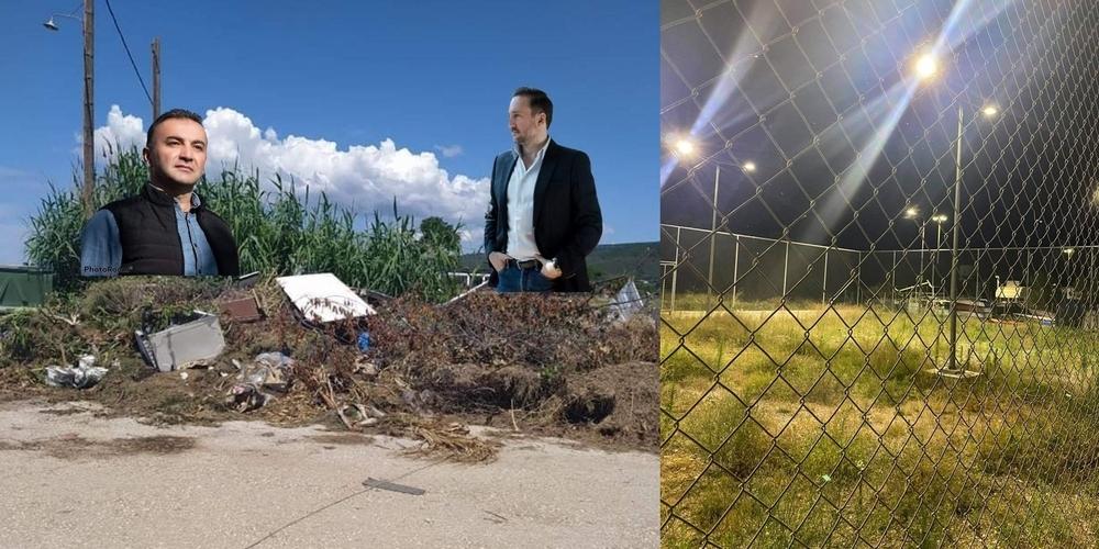 """""""Πόλη και Πολίτες""""-Λαμπάκης: Μαζί με τον παραιτηθέντα Αντιδήμαρχο που… παρέμεινε, παραμένουν χόρτα και σκουπίδια"""