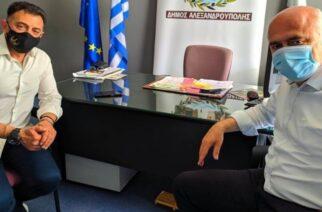 Συνάντηση του Περιφερειάρχη Χρήστου Μέτιου, με τον Πρόεδρο του Δημοτικού Συμβουλίου Αλεξανδρούπολης Δημήτρη Κολιό