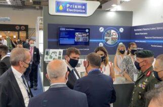 """Εντυπωσιακή παρουσία η Εβρίτικη εταιρεία """"Prisma Electronics"""" στη διεθνή έκθεσης Άμυνας και Ασφάλειας """"DEFEA 2021"""""""