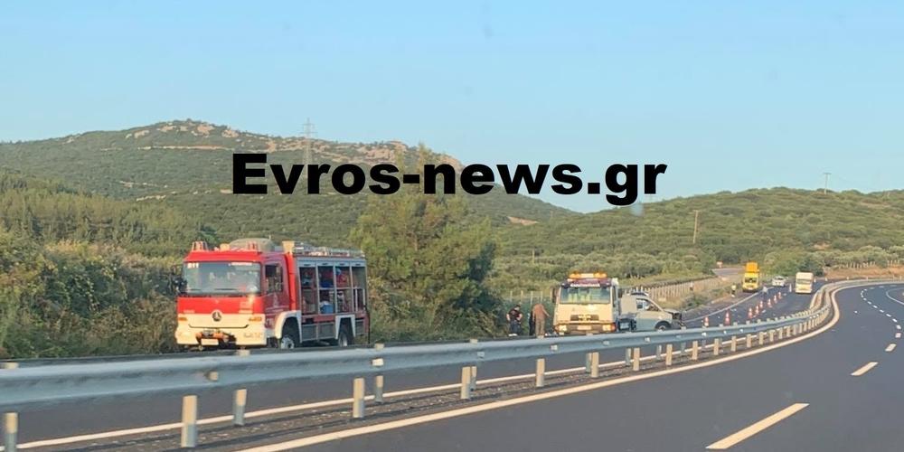 Αλεξανδρούπολη-ΤΩΡΑ: Πολύ σοβαρό τροχαίο με τραυματισμό αντρόγυνου στο δρόμο Μάκρη-Δίκελλα
