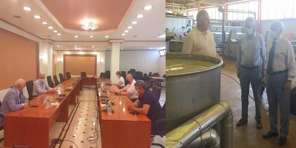Σουφλί: Την δημιουργία επαγγελματικών Σχολών Σηροτροφίας, Αμπελουργίας, Μελισσοκομίας συζήτησαν δήμαρχος-Γενικός Γραμματέας Επαγγελματικής Κατάρτισης