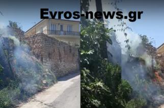 Διδυμότειχο: Φωτιά απείλησε σπίτι στο Πύθιο – Η επέμβαση της Πυροσβεστικής απέτρεψε τα χειρότερα (ΒΙΝΤΕΟ)