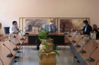 Συνεχείς συσκέψεις του Γενικού Γραμματέα Επαγγελματικής Εκπαίδευσης Γιώργου Βούτσινου στον Δήμο Αλεξανδρούπολης