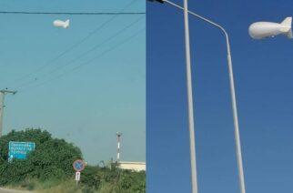 """Αλεξανδρούπολη: Ξεκίνησε την επιτήρηση των συνόρων το υπερσύγχρονο αερόστατο """"Zeppelin"""" της FRONTEX"""