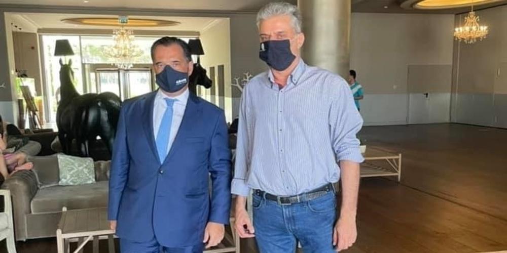 Μαυρίδης: Καταιγίδα αρνητικών σχολίων για την σημερινή συνάντηση του με τον Άδωνι Γεωργιάδη