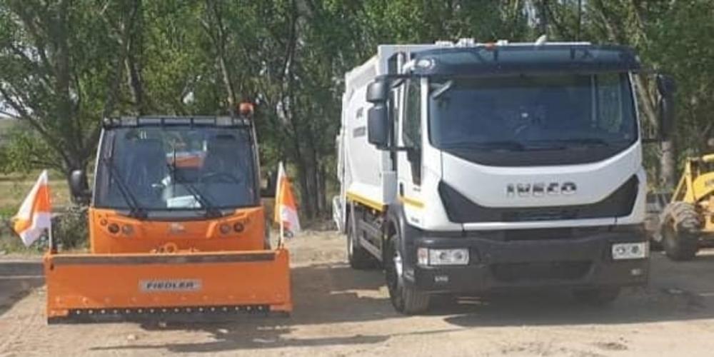 Τρία νέα οχήματα παρέλαβε ο δήμος Διδυμοτείχου, για ενίσχυση της Τεχνικής Υπηρεσίας του