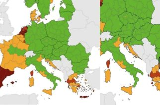 """Κορονοϊός: Μόνο η Περιφέρεια ΑΜΘ και Σαμοθράκη, Θάσος """"πράσινες"""" στην Ελλάδα, απ' το ECDC"""