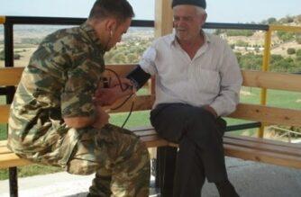 Σουφλί: Δωρεάν ιατρικές εξετάσεις από κλιμάκιο της 50ης Ταξιαρχίας, στους κατοίκους Μεγάλου Δερείου, Σιδηροχωρίου