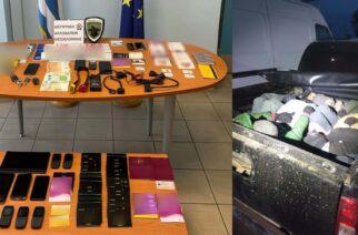 Συλλήψεις 2 Ελλήνων και 3 αλλοδαπών, για συμμετοχή σε διεθνές κύκλωμα διακίνησης λαθρομεταναστών απ' τον Έβρο