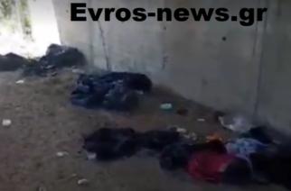 Ορεστιάδα: Λαθρομετανάστες βρήκαν κρυψώνα κάτω από γέφυρα και νύχτα πήραν τα… βουνά (ΒΙΝΤΕΟ)