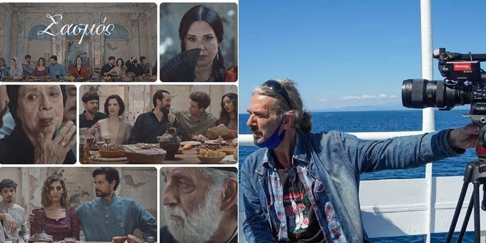 """""""Σασμός"""": Ο Εβρίτης σκηνοθέτης Δημήτρης Κιτσικούδης, στους συντελεστές της νέας δραματικής σειράς του ALPHA"""