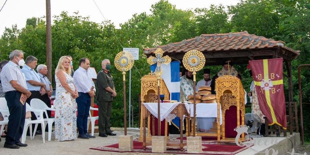 Διδυμότειχο: Παρουσία Μητροπολίτη, δημάρχου και Στρατηγού, το Παλιούρι γιόρτασε χθες τον Άγιο Παντελεήμονα