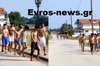 Ορεστιάδα: Όχι, δεν ψάχνουν… παραλία – Λαθρομετανάστες που πέρασαν απ' την Τουρκία σήμερα στο Ορμένιο (ΒΙΝΤΕΟ)